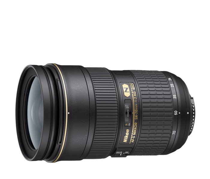 Nikon AF-S Nano Crystal Coat 24-70mm f/2.8G IF-ED Lens