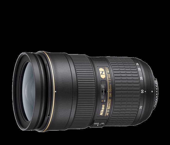 Nikon AF-S Nano Crystal Coat 24-70mm f/2.8G IF-ED Lens