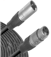Microphone Cable -  3-Pin XLR Male to 3-Pin XLR Female