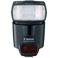 Canon 430EX II Speedlite TTL Flash