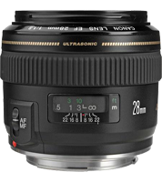 Canon Wide Angle EF 28mm f/1.8 Lens