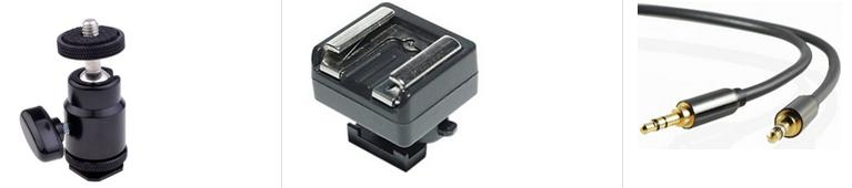 Zoom Recorder Mounting Kit for DSLR