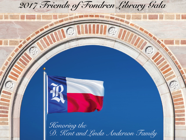 2017 Friends of Fondren Gala