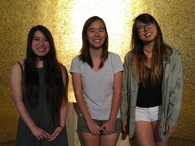 Alison Liu, Jasmine Lin, Erica Cheung