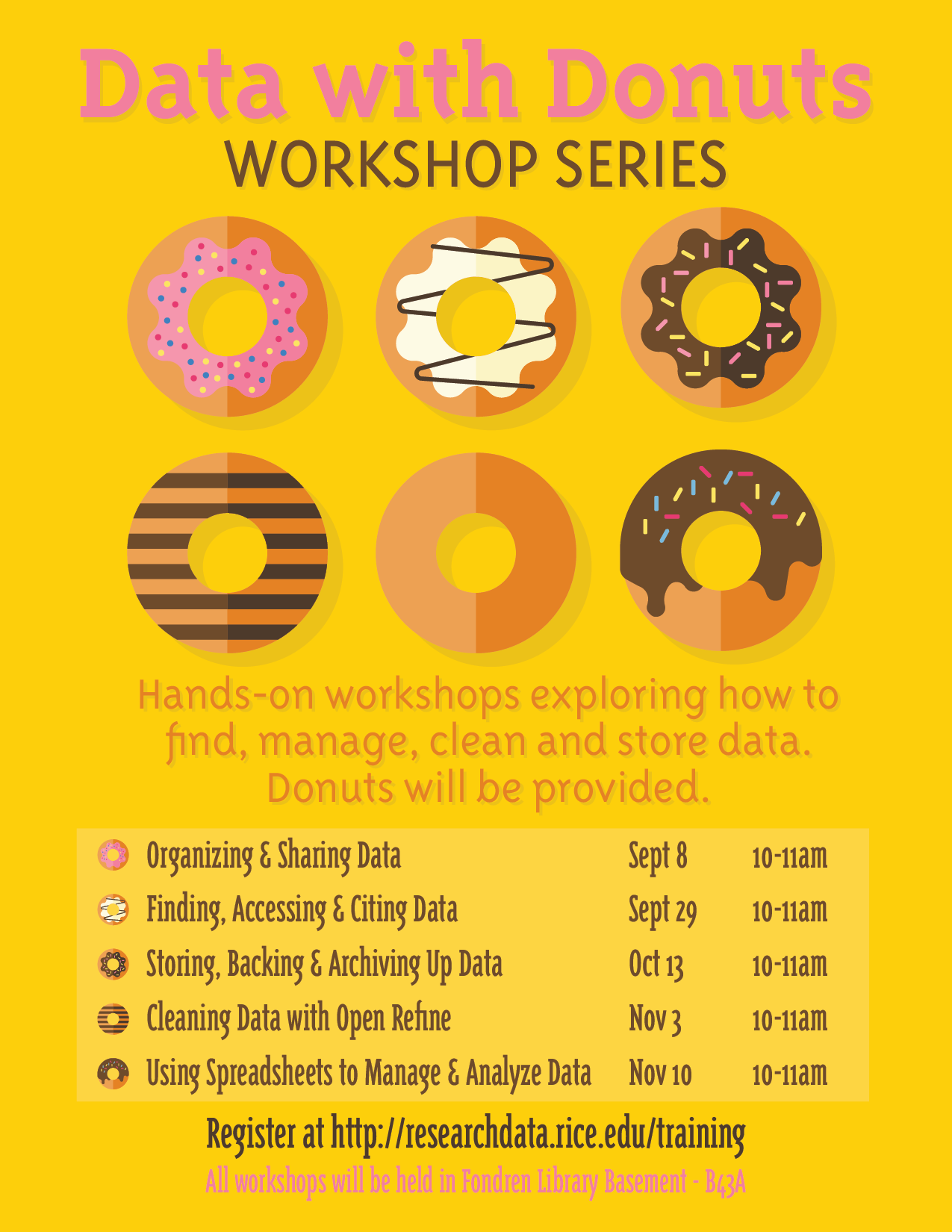 Data with Donuts