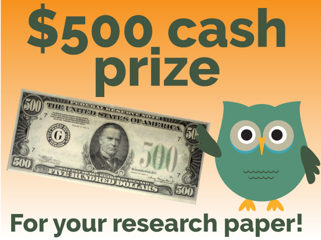 $500 cash prize