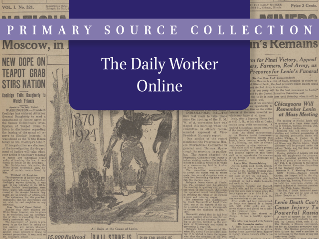 Daily Worker Online