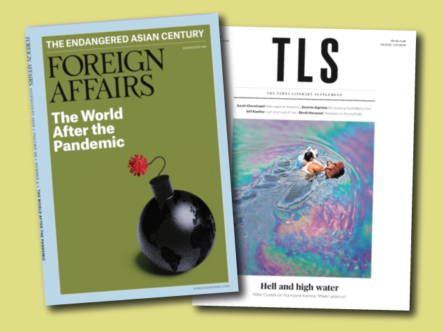 Foreign Affairs and Times Literary Supplement