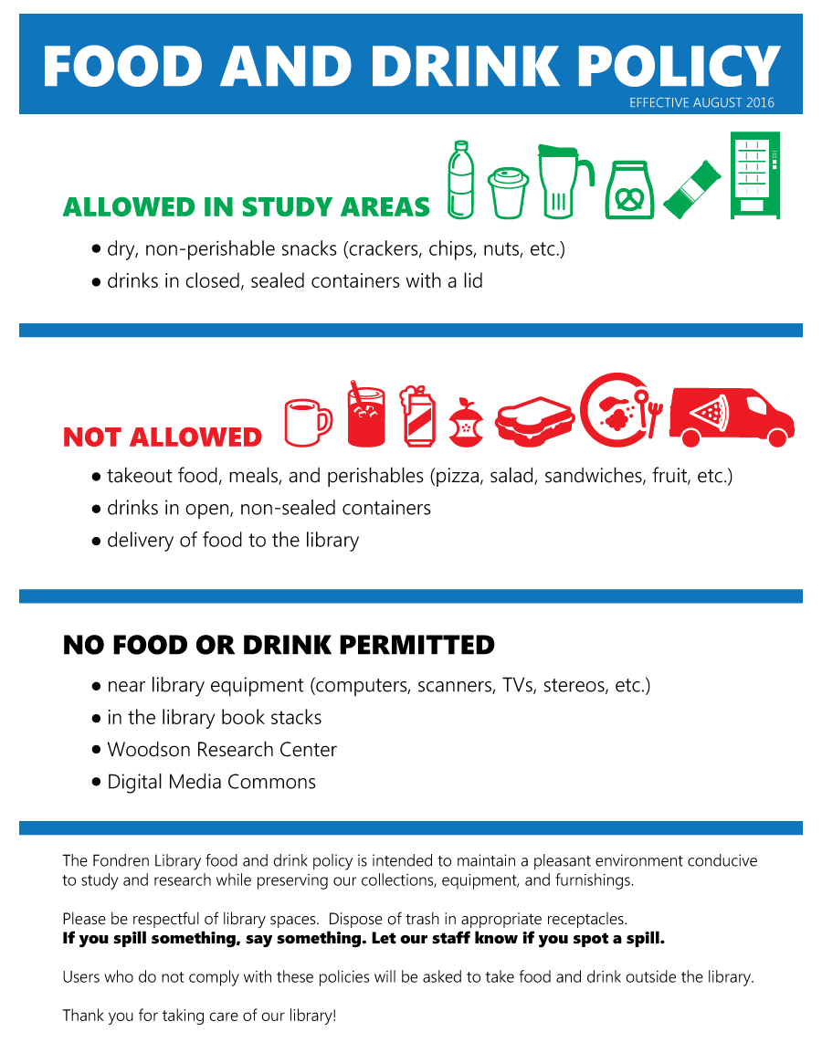 Food and Drink Policy 2016