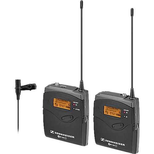 Sennheiser ew112-p G3 Wireless Mic System with ME2 Lavalier Mic 2016