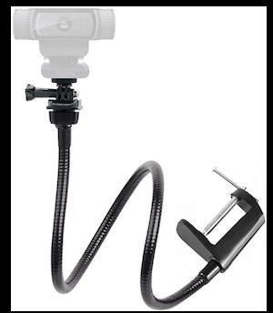 logitech webcam holder