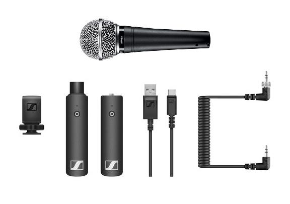 Sennheiser Wireless Microphone Set XSW-D handheld