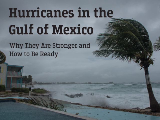 Hurricanes in the Gulf of Mexico
