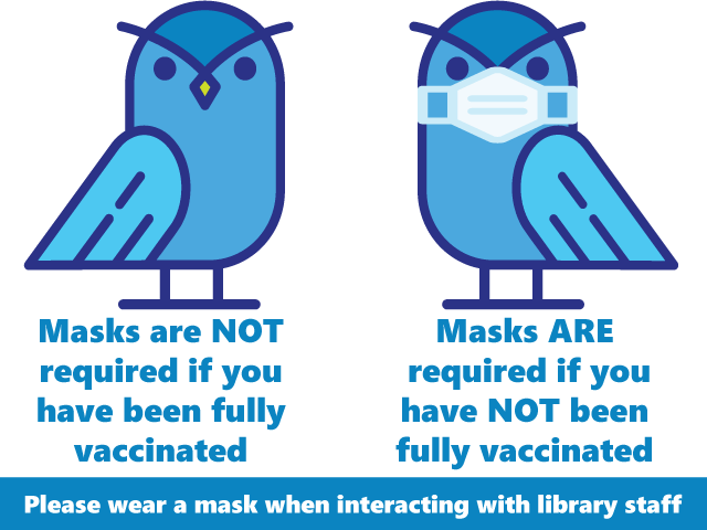 Fondren Library's Current Mask Policy