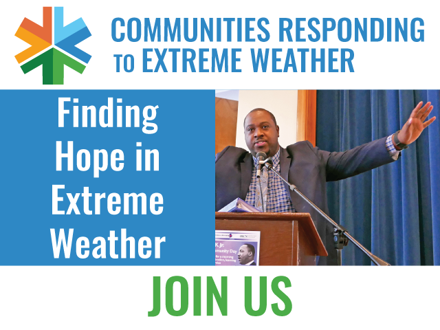 """Join Us for """"Finding Hope in Extreme Weather"""" December 2"""