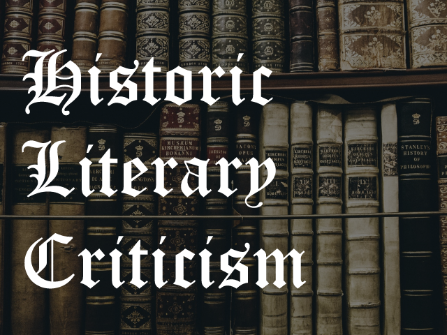 New Trial: Historic Literary Criticism