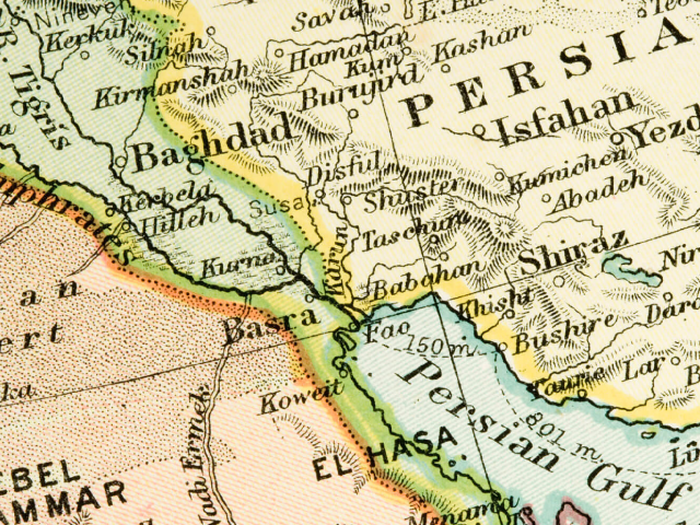The Middle East, its division  into countries and the creation of Israel 1879-1919