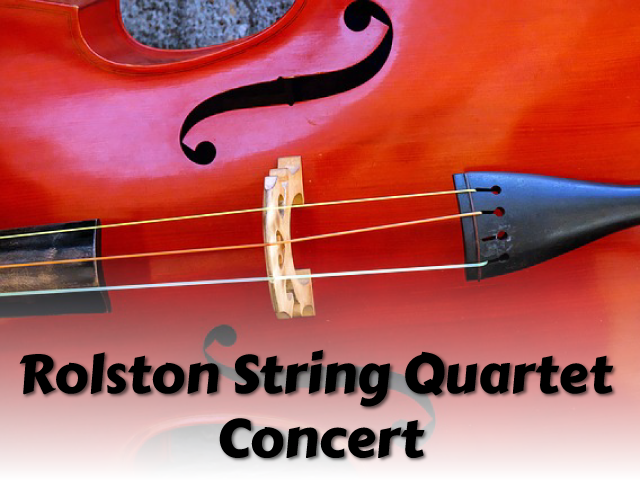 Rolston String Quartet Concert