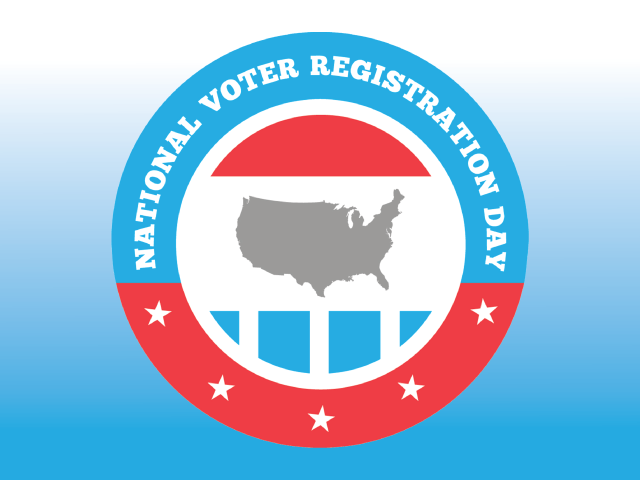 Voter Registration Events - Sep. 21, 25, 27 & 28