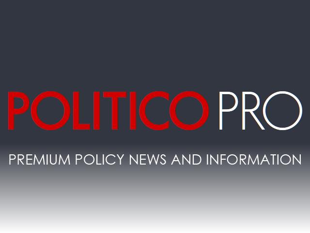 POLITICO Pro
