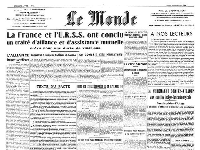 Le Monde (1944 to 2000)